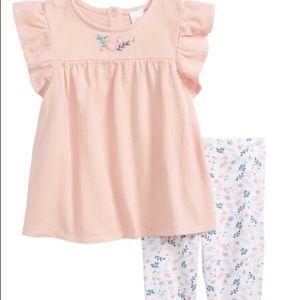 Nordstrom Baby Tunic & legging Set | Size 3MO
